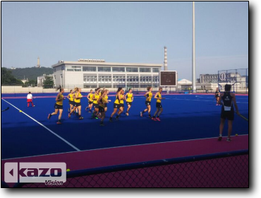 China and Australia Women's Field Hockey
