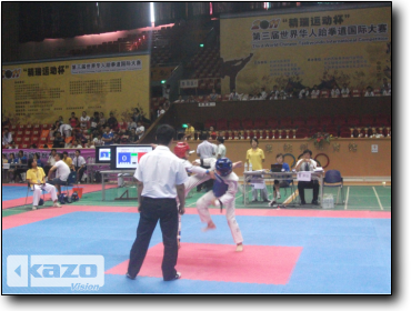 Third World Chinese Taekwondo International Competition