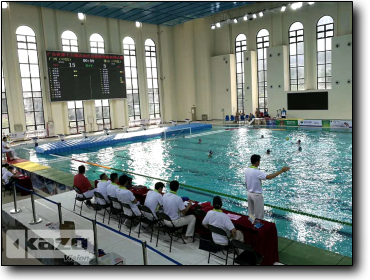 Water Polo Competition of the 15th Guangdong Games